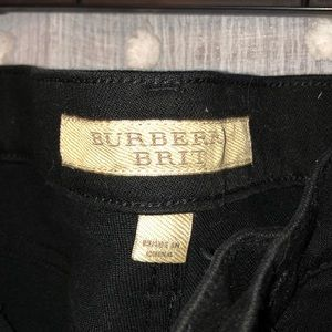 Burberry black jeans
